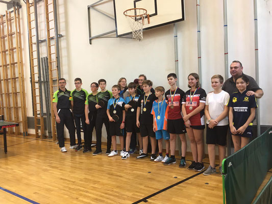 Nico Zimmermann und Tobias Mach schaffen es auf den zweiten Platz in der 2. Klasse und unterliegen nur Stockerau/Spillern/2. Drei Teams lassen sie hinter sich.