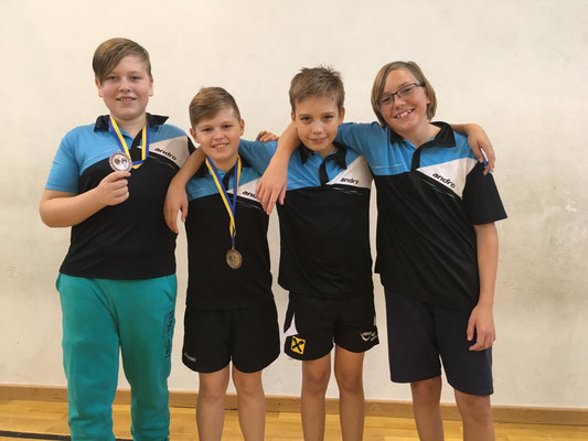 Klaus Mörwald und Jakob Wilder erobern Bronze in der 1. Klasse U15. Sebastian Renner und Niklas Binder werden Fünfter in der 1. Klasse.