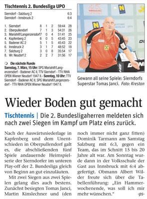 Doppelschlag unserer Bundesliga