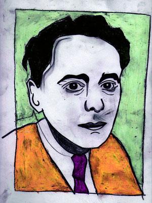 Grafik: Ödön von Horváth (c) Miriam Gil