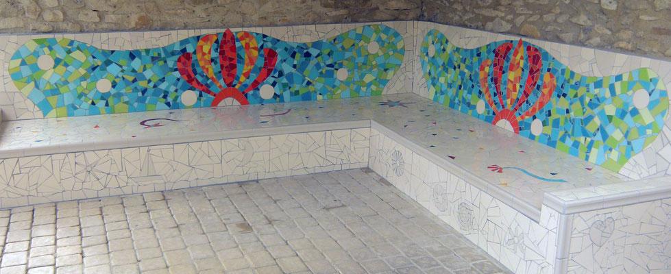 banc inspiration Gaudi
