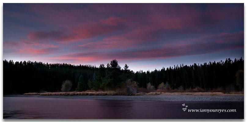 Snake river sunrise