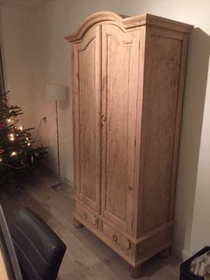 Populair zandstralen van houten meubels - VMS-ZANDSTRALEN @NC28