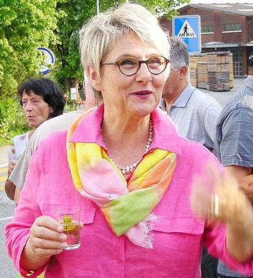 Künstlerin Eva Hirsig