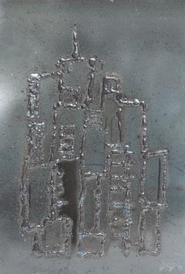 Merlata, 2015, 35 x 27 cm, Ferro