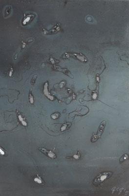 Caos V, 2015, 35 x 27 cm, Ferro