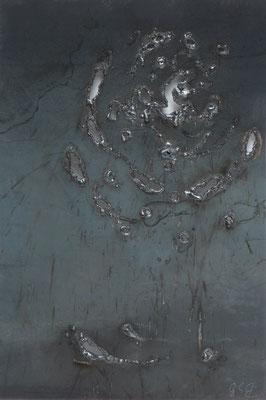 Evoluzione I, 2015, 35 x 27 cm, Ferro