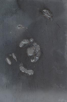 Caos I, 2015, 35 x 27 cm, Ferro