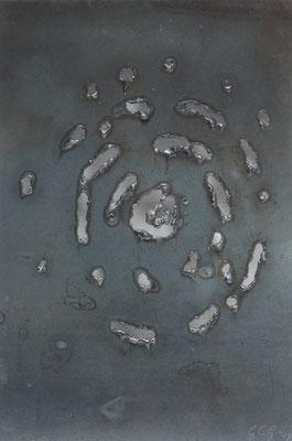 Evoluzione III, 2015, 35 x 27 cm, Ferro