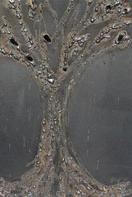 Albero della vita,2015, 35 x 27 cm, Ferro