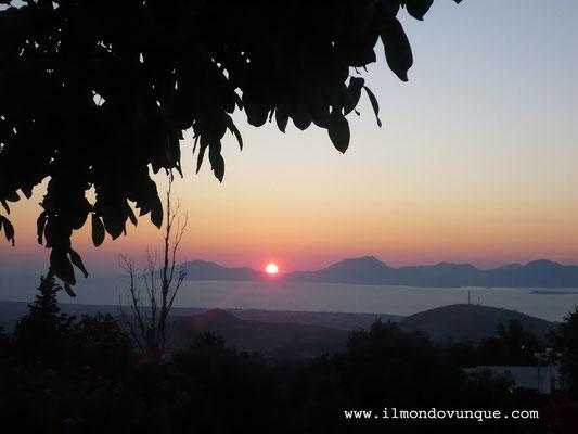 Kos- tramonto da Zia