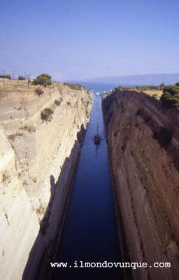 Lo stretto di Corinto- Grecia