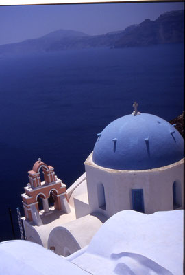 Santorini by Roberto Prudentino