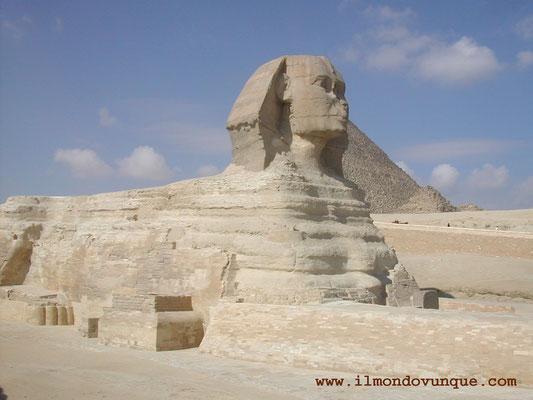 La sfinge - Cairo- Egitto