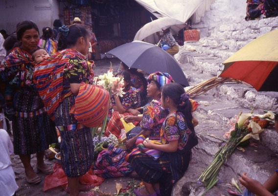 Guatemala - il mercato di Chichicastenango