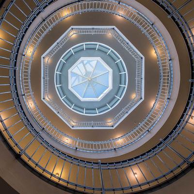 Stairwell, Woehrmannhaus Hamburg