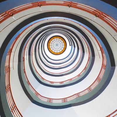 Stairwell,  Sprinkenhof Hamburg