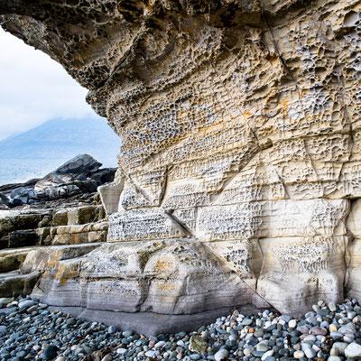 Honeycomb Rock at Elgol, Isle of Skye