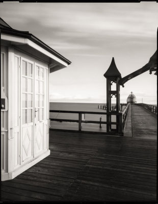 Pier architecture at Sellin, Isle of Ruegen