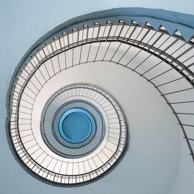 Stairwell, Bunker Feldstraße Hamburg