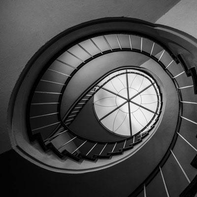 Stairwell, Michaeliskloster Hildesheim