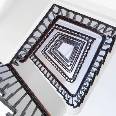 Stairwell, Chilehaus Hamburg