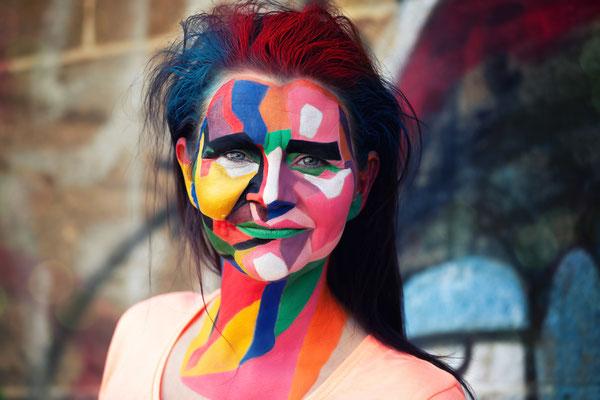 Pop Art Make-Up