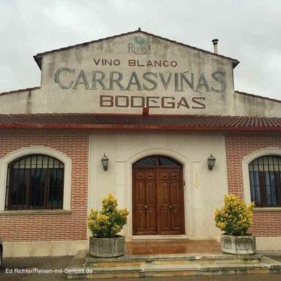 Auf dem Weingut Lorenzo Cachazo: die Heimat des Carrasvinas
