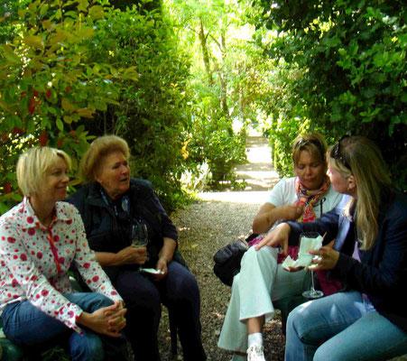 Pause im Park: Wir trinken ein Glas Verdejo mit Julia