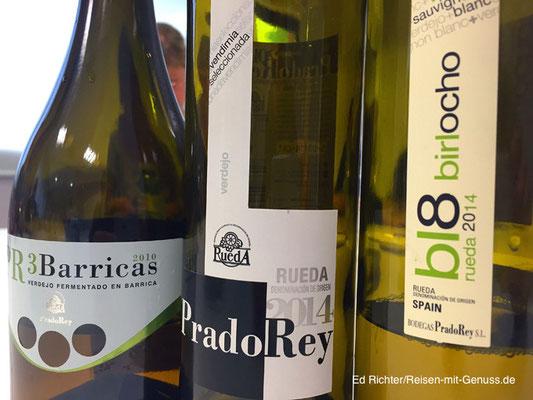 Hochwertige Verdejos von PradoRey