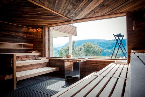 Reinsetzen und entschlacken: Sauna mit Aussicht