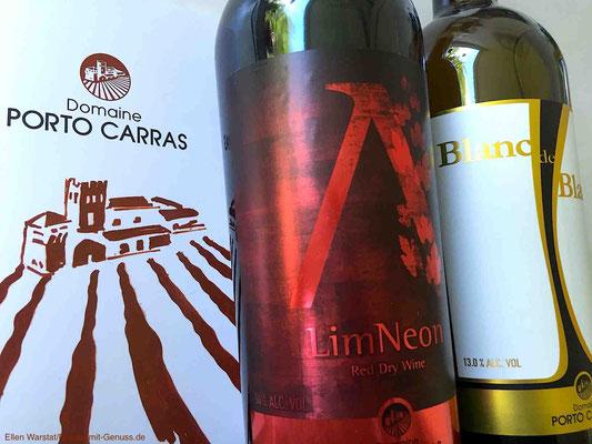 Die Weine von Porto Carras wurden schon bei vielen internationalen Wettbewerben ausgezeichnet