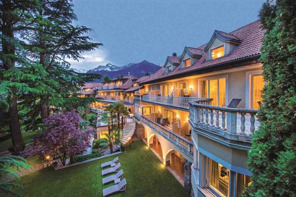 Viel Privatsphäre: Die Villa Eden hat nur 30 Zimmer und Suiten