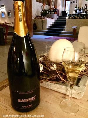 Haderburg Pas Dosé: Davon könnte ich mehr trinken.…