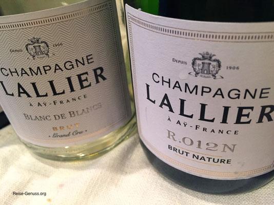 "Beide ""Lallier"" Champagner waren großartig"