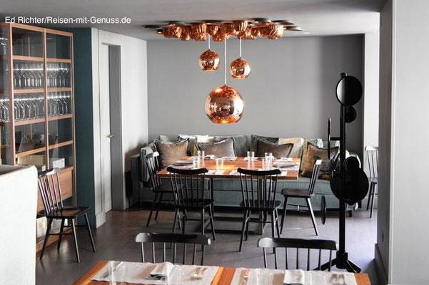 Wohnlich: Die Einrichtung im Le Beccherie erinnert teilweise an ein gemütliches Wohnzimmer