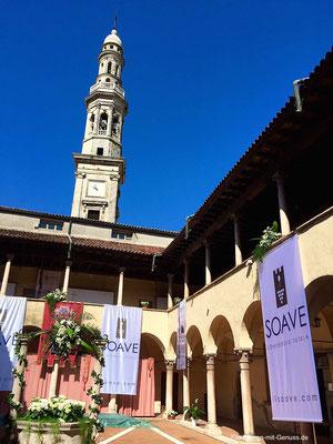 Soave Preview 2015 im Bischofspalast in Monteforte d'Alpone