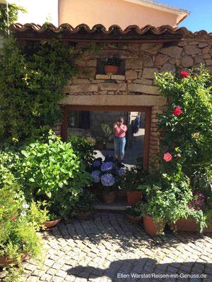 Blühendes Dorf: Die Einwohner von Aggius haben ein Händchen für Pflanzen