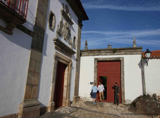 """In der Quinta """"Morgadio da Calcada wird man vom Hausherrn persönlich begrüßt"""