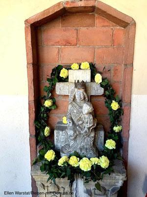 Beistand von oben: Madonna im Bischofspalast von Monteforte d'Alpone