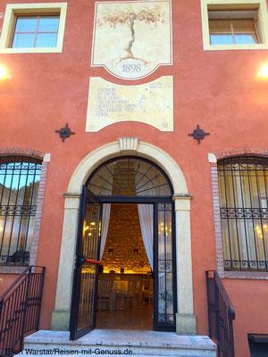 In der Kellerei Borgo Rocca Svea finden immer wieder Events statt