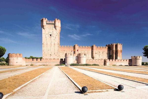 Hier kam so schnell kein Feind rein: Castillo de la Mota