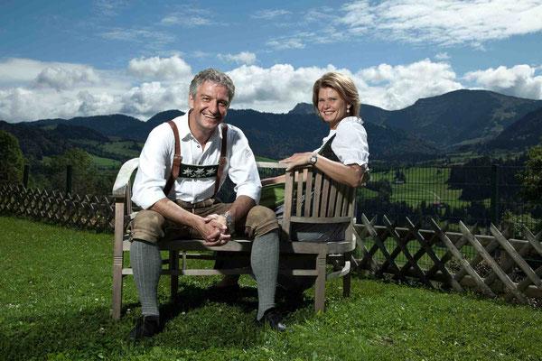Ein Ehepaar mit viel Energie und Visionen: Hans-Jörg und Sabine Lingg