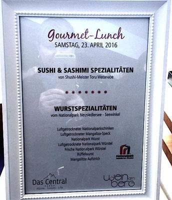 Schlemmen bis zum Umfallen: Gourmet-Lunch im Panoramarestaurant am Tiefenbachgletscher
