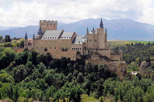 Einst eine Trutzburg, heute ein Museum: Alcázar in Segovia