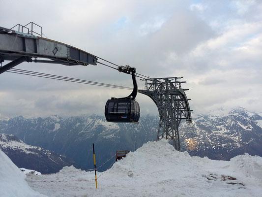 Sanft auf über 3000 Metern einschweben - mit der Gaislachgoglbahn
