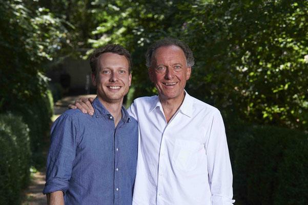 Die Hausherren: Clemens (l.) und Alois Lageder