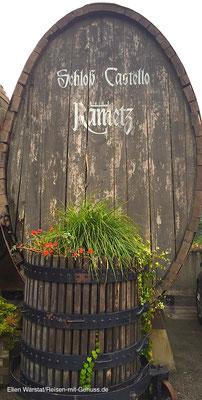 Weinbau hat auf Schloss Rametz lange Tradition
