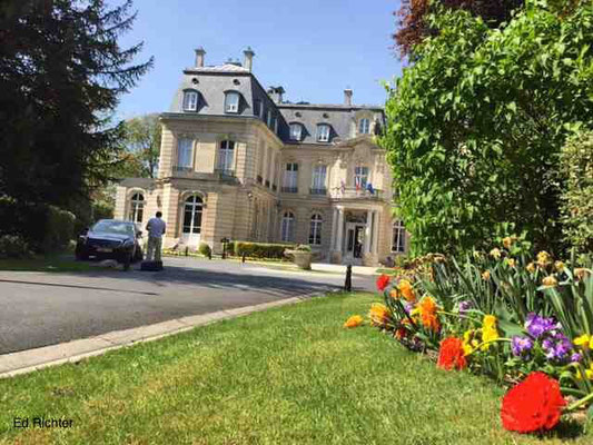 """5-Sterne-Hotel  in Reims: """"Domaine les Crayère"""""""