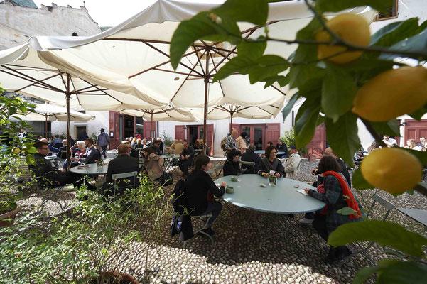 Gut essen und trinken: Die Vineria Pardeis hat von Montag bis Samstag ganzjährig geöffnet